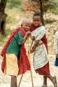 Massai-Hirtenkinder