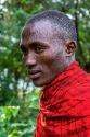 Massai - ein Nachtwächter in einer Hotelanlage